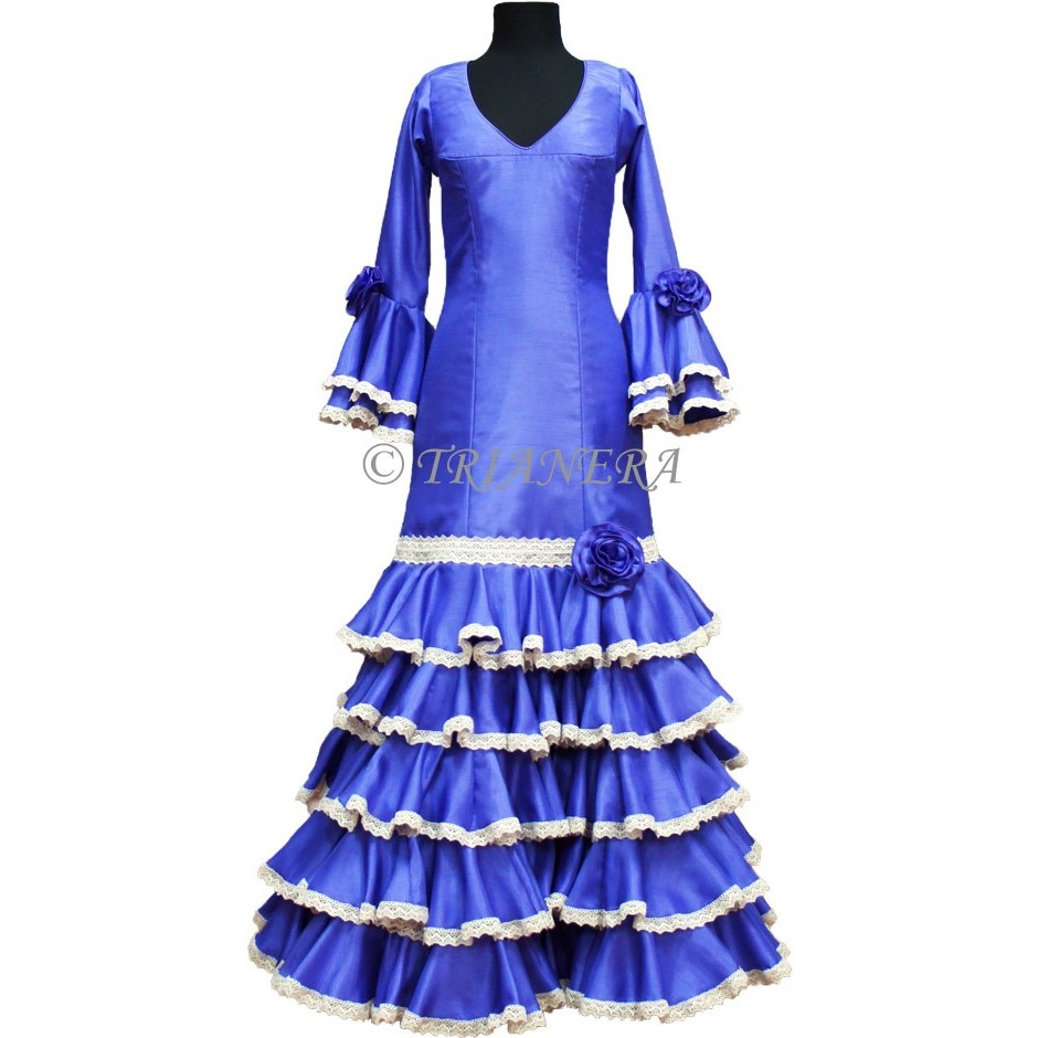 CUSTOM-MADE FLAMENCO DRESS BY TRIANERA