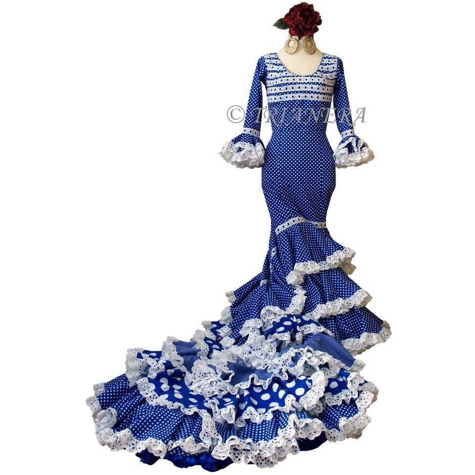 CUSTOM-MADE FLAMENCO DRESSES (BATA DE COLA)